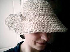 ao with <3 / 1950s-style wide brimmed hat