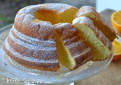 Chiffon cake all'arancia ricetta senza burro e olio