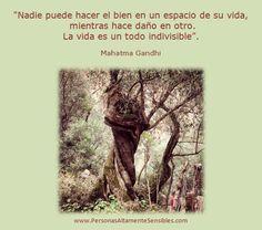 La vida es un todo indivisible.