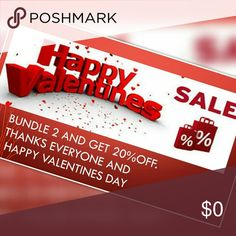 Happy Valentine Bundle and save 20% off on 2 today.. Other