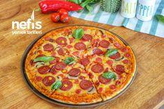 Evde Pizza Tarifi Nasıl Yapılır? – Nefis Yemek Tarifleri Pizza, Pepperoni, Food And Drink