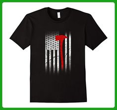 Mens American Firefighter Shirts Firefighter Gifts XL Black - Careers professions shirts (*Amazon Partner-Link)