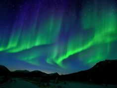 #1 on my Bucket List: to see the Aurora Borealis, and maybe even snap an awesome photo like this one.
