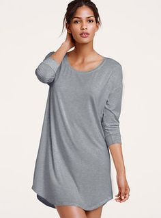 ca0351984b86 Victoria s Secret NEW! Supersoft Oversized Sleepshirt - ShopStyle. Women s Sleep  ShirtsSleep ...