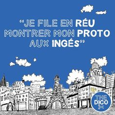 """Je file en réu montrer mon proto aux ingés""  feeling confused with such sentence?  # # #expressions #colloquial #thedico #dico #apocope"
