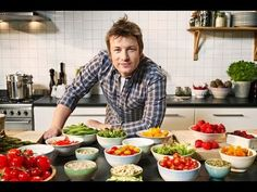 Jamie Oliver: Try Something New!  Great introduction to challenge students to try new foods! #fcs