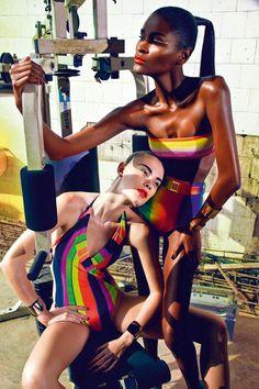 Tropical Future – Manuel Nogueira | November issue of Elle Brazil