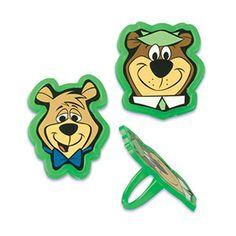 Yogi Bear Cupcake Rings