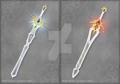 Crystal swords by Rittik-Designs on DeviantArt