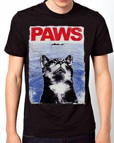 Paws Jaws Men Short Sleeve T-Shirt