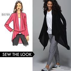 Fall agenda Make comfy cardigans Sew the look with Butterickhellip