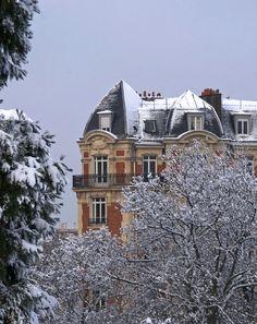 View from Buttes Chaumont, Paris XIX