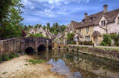 Castle Combe, England (by Laughing at the Sky) (All things Europe)