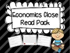 I have been trying to integrate language arts with science and social studies more than usual this past semester. Teaching Economics, Economics Lessons, Student Teaching, Classroom Money, 3rd Grade Classroom, Future Classroom, Classroom Ideas, Close Reading Activities, Teaching Reading