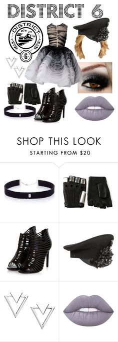 """""""District 6"""" by aquatic-angel ❤ liked on Polyvore featuring AS29, Majesty Black, Christian Dior, A-Morir by Kerin Rose, Nadri and Lime Crime"""