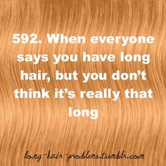 This happened to me a few days ago...then I cut my hair..