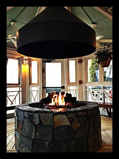 Fire pit gazebo metal hood google search fire pit for Plans for gazebo with fireplace