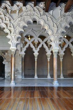 La Alfajería Palace, Saragossa, Spain  - Palacio de la Alfajería, Zaragoza, España   (my Country)