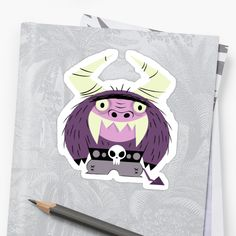 This is Eduardo from Foster's Home for Imaginary Friends. • Also buy this artwork on stickers, phone cases, home decor, and more.