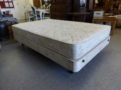 Double bed, only 4ft wide so its smaller than a standard double, with mattress. -------------- £65 (pc766)