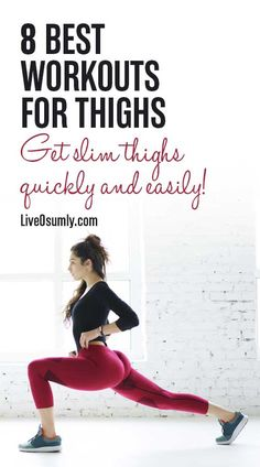 Are you failing at losing that stubborn thigh fat? Here we list 8 good exercise to burn fat in your thighs and you will find that it is entirely possible to slim down thighs to get those sexy legs. Reduce Thigh Fat, Exercise To Reduce Thighs, Lose Thigh Fat, Lose Belly Fat, Lose Fat, Fitness Motivation, Fitness Tips, Health Fitness, Health App