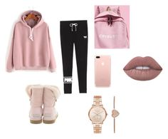 """""""¿"""" by fabj213 on Polyvore featuring Victoria's Secret, UGG and Michael Kors"""