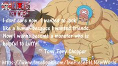 Chopper Quote http://buzzotaku.com/2014-05/onepiece-quotes.html