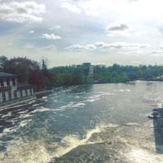 Mississippi River Falls in Almonte #ournewneighborhood #almonte #mississippimills #lovethewater #ontario Ontario, Mississippi, Canada, River, Amazing, Outdoor, Outdoors, Outdoor Games, The Great Outdoors