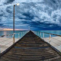 Largs Pier, Adelaide, Australia • Adelaide's beaches