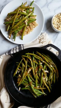 Better than Takeout Miso Green Beans