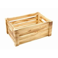 Wooden Crate Rustic Finish 34 x 23 x Vintage Wedding Cards, Card Box Wedding, Woodworking Projects Diy, Wood Projects, Wooden Crates Rustic, Jar Crafts, Plant Holders, Tableware, Outdoor Decor