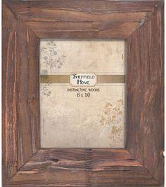 8x10 Brown Carved Wood Frame, , hi-res