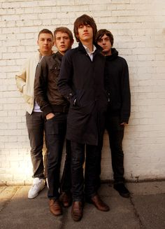 arctic monkeys: alex turner, matt helders, jamie cook, nick o'malley :)