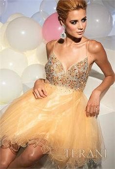 Terani P670 Prom dress - Terani Prom 2012 Collection