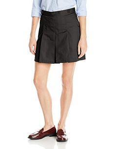 Classroom Juniors Hipster Scooter Skirt with Pleats Black 1516 >>> Find out more about the great product at the image link.