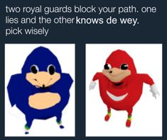 Two Royal Ugandans   Ugandan Knuckles   Know Your Meme