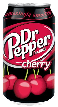 Cherry Dr Pepper, you are the DEVIL!  I rarely drink Dr Pepper anymore (because it's so bad for me)  but I still adore it.