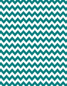Teal chevron background - 15 colors available - free instant download.