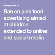 advertising aimed at children should be banned This 2004 report examines the effects of advertising and commercialism on children and recommends roles for psychologists in the task force on advertising and children the federal communications commission considered a proposal to ban advertising to audiences of young children.