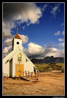 beautiful little church in Arizona