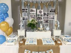 Shabby Chic Baptism Party Ideas   Photo 5 of 15