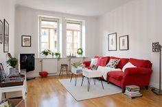 Scandinavian Design: a Colorful Apartment in Gothenburg
