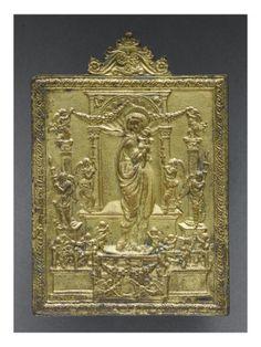 La Vierge et l'Enfant entouré d'anges - Musée national de la Renaissance (Ecouen)