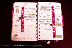 #lucywonderland week #planner #16