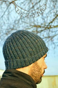 Ban'anna'frip: Le bonnet homme (DIY) à faire en circulaire