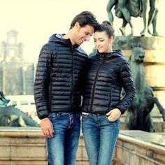 Clearance Parkas 2014 New Arrival European Hooded Coat Fashion Autumn Winter Women Jacket Warm Thin Outerwear