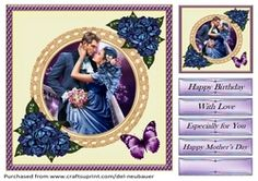 - A elegant quick card of a romantic couple embracing under the night sky. Cup Design, Quick Cards, Romantic Couples, Night Skies, Gift Tags, Card Making, Romance, Sky, Frame