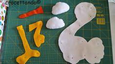 Výsledek obrázku pro nasita per bimbo . Felt Crafts Patterns, Bird Patterns, New Years Eve Party, Kids Crafts, Diy, Tutorial, Mamma, Ideas, Craft Patterns