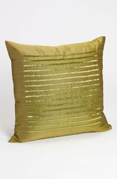 Nordstrom at Home Beaded Stripe Pillow Cover available at #Nordstrom