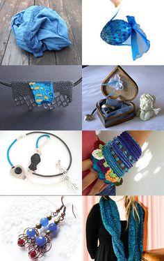 Something blue... by Natasha on Etsy--Pinned with TreasuryPin.com